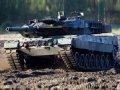 Немцы тоже любят ездить за границу на танках